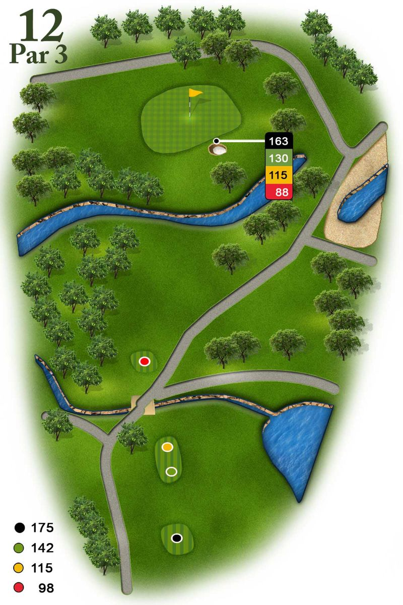 3D Images for Course Guides and Yardage Book in 2020