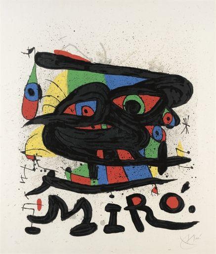 """Joan Miró Litografía """"Sculptures"""" 1971 85,3 x 72,8 cm Tirada 150 ejemplares Firmada y numerada a mano Certificada por la Fundació Joan Miró Mourlot 755 Precio: Consultar web Web: www.grabadosylitografias.com Más información y consultas: galeria@grabadosylitografias.com"""
