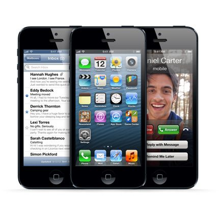 iPhone 5 Pre-Order Sells Out 20X Faster Than 4 & 4S