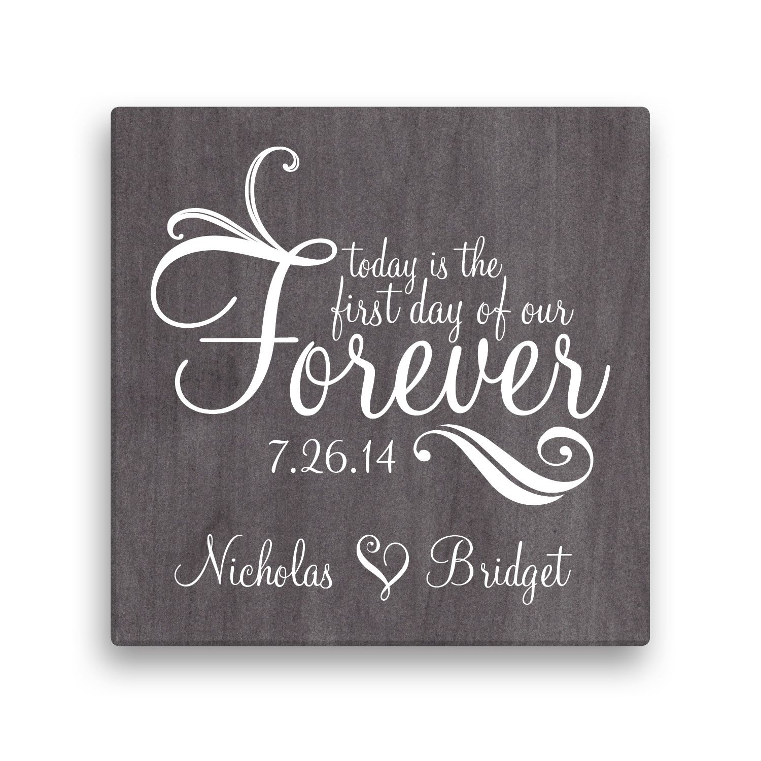 Forever Personalized 16  x 16  Canvas - Wall Art u0026 Prints ...  sc 1 st  Pinterest & Forever Personalized 16