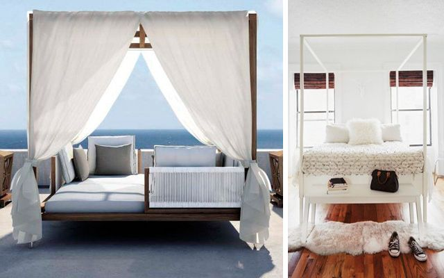 Camas con dosel bedroom pinterest camas con dosel for Camas con cortinas