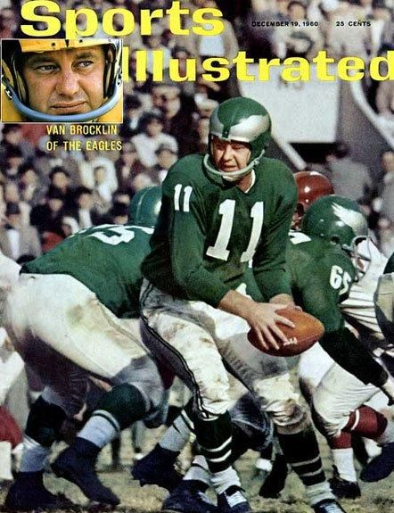 outlet store 527c7 f4496 Eagles On Sports Illustrated Cover - Norm Van Brocklin 1960 ...