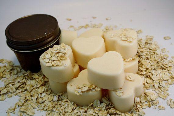Soy Wax Melts  Soy Wax Tarts  Oats & Honey by Blackberrythyme, $7.50