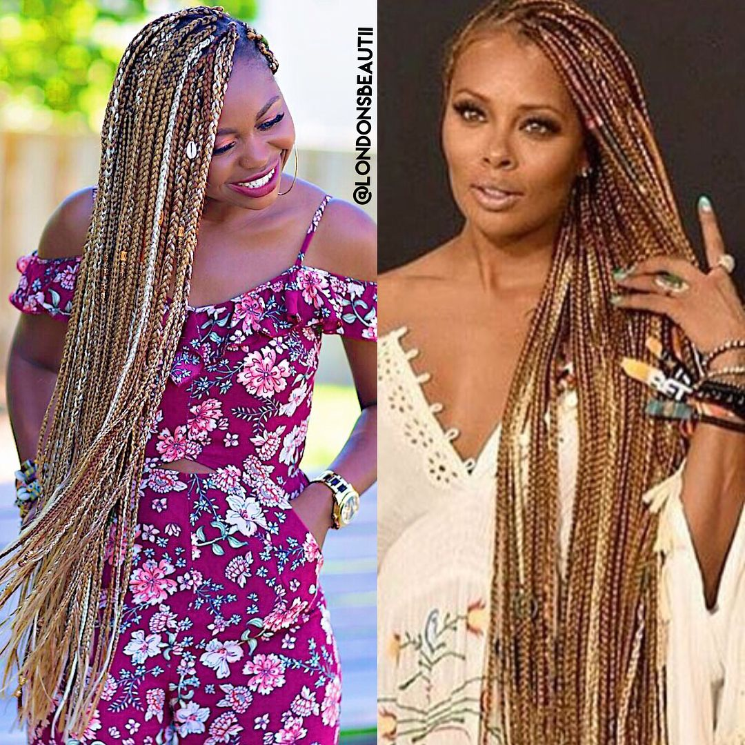 Eva Marcille Inspired Braids Done By By London S Beautii