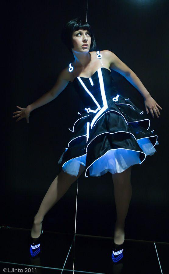 Futuristic Prom Dress