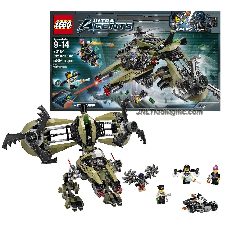Set 70164 LEGO Ultra Agents MiniFigure Agent Caila Phoenix ...