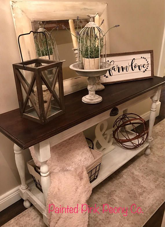 I Like The White With The Really Dark Top Too Sofa Tables For Sale Sofa Table Buffett Table
