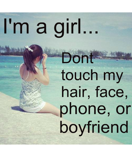 Top Girl Quotes: I Am A Girl- Girl Quotes