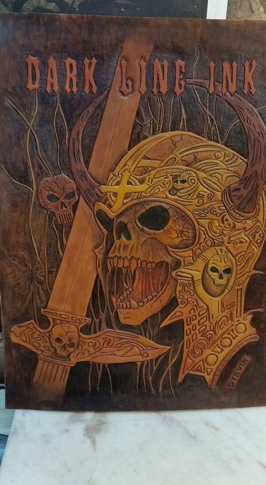 Tooled Leather art