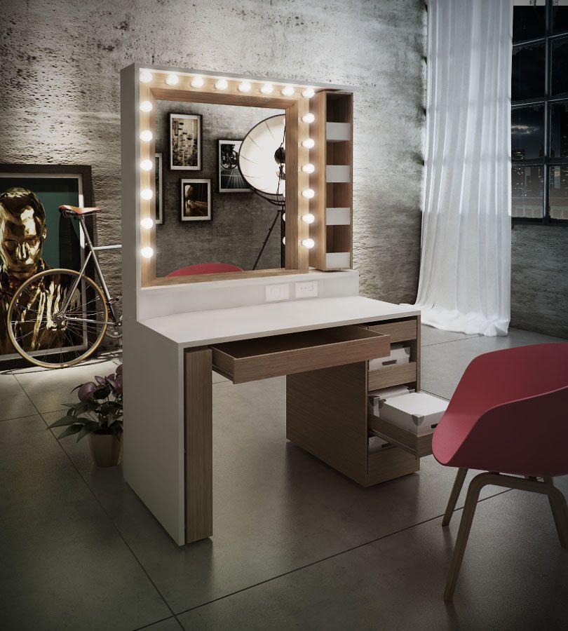 Mueble maquillaje on Behance | Vestidores.... | Pinterest ...