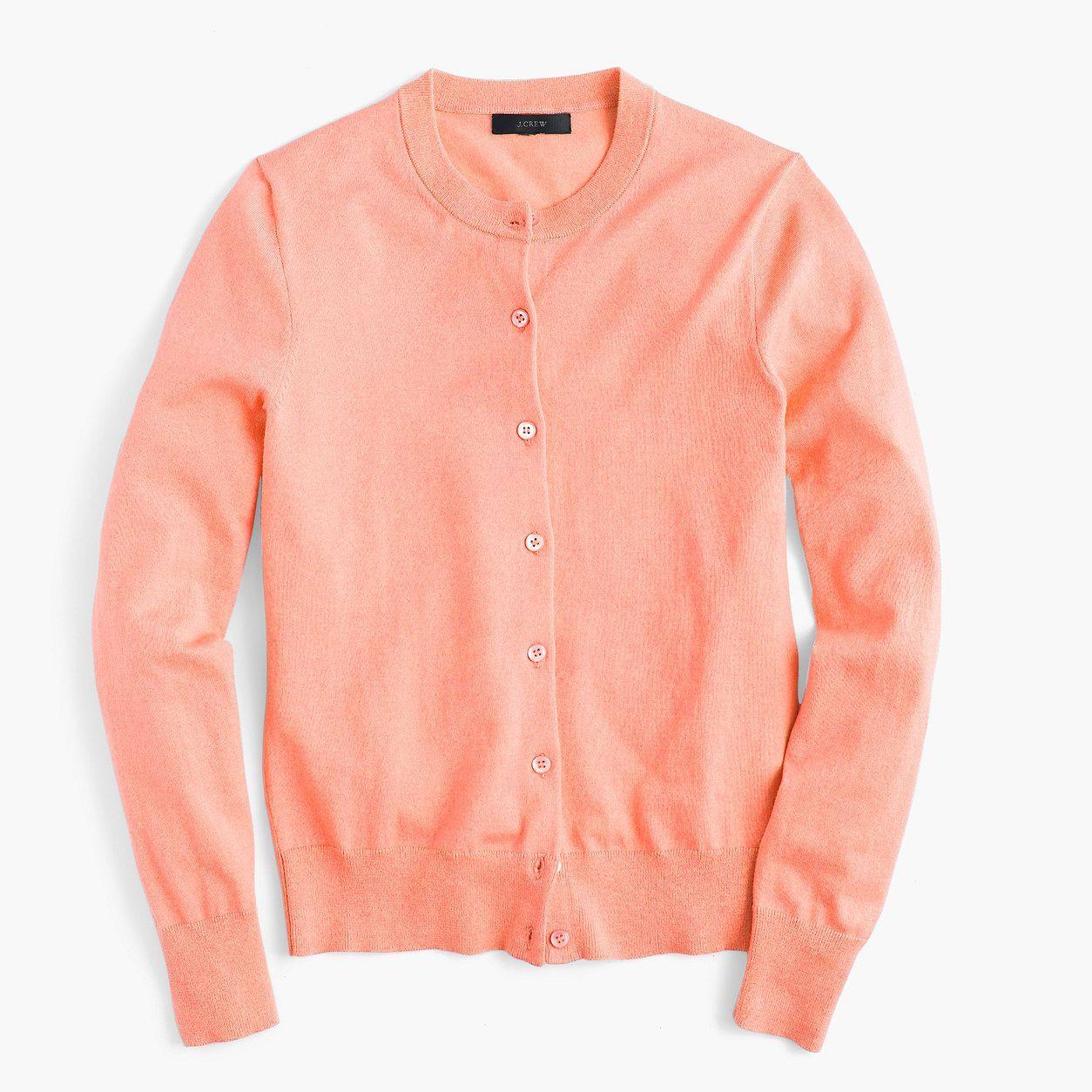 J.Crew Womens Cotton Jackie Cardigan Sweater (Size XXS) | Products