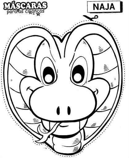 Free Coloring Pages Masks