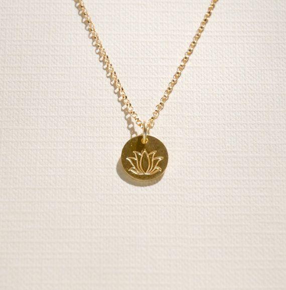 Gold lotus necklace lotus pendant flower petal by littleglamour gold lotus necklace lotus pendant flower petal by littleglamour 3200 mozeypictures Image collections