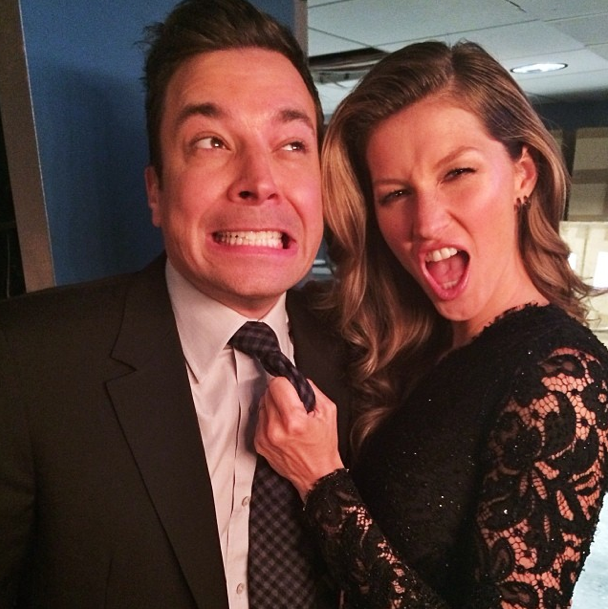 Gisele Bundchen and Jimmy