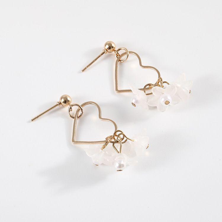 93c04adae91fa Earrings Floral Minimalist Fairy Flower in 2019 | Earrings ...