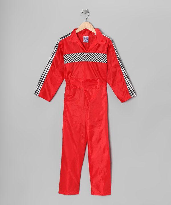 Red Racecar Driver Jumpsuit Boys Fancy Dress For Kids Toddler Jumpsuit Jumpsuit