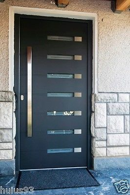 Details about Stainless Steel Modern Entry Entrance Store Front ...