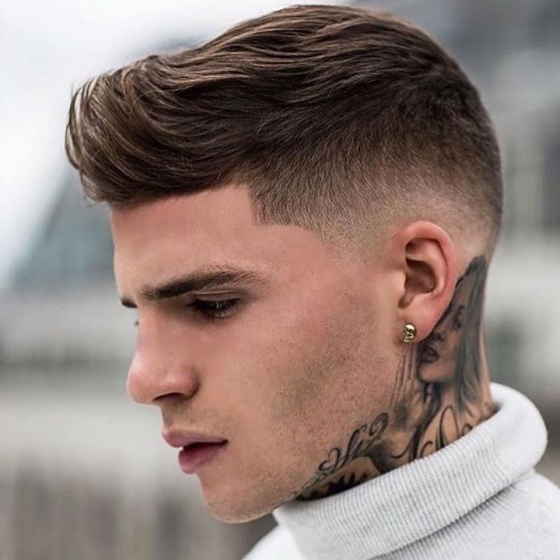 Pompadour Fade Haircuts For Men Mens Hairstyles Hipster Haircut