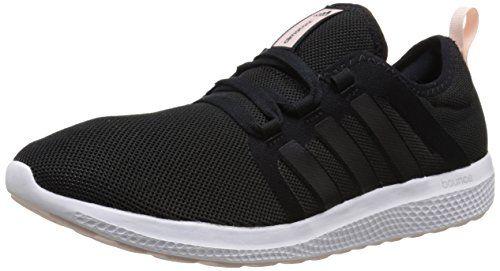 811599418f12e adidas Performance Womens Fresh Bounce W Womens Running ShoeBlackBlackHalf  Pink95 M US     Find