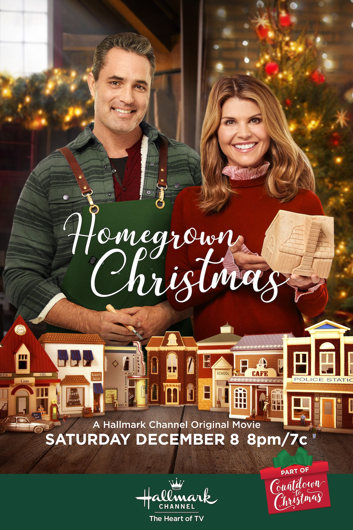 Can Old Flames Be Rekindled After Heartbreak Hallmark Favorites Lori Loughlin And Victor Webster Te Christmas Movies Hallmark Christmas Movies Hallmark Movies