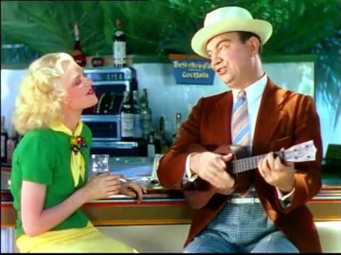 """Cliff Edwards a.k.a. Ukulele Ike sings """"Hang on to Me"""" in """"Starlit Days at the Lido"""" (1935)"""