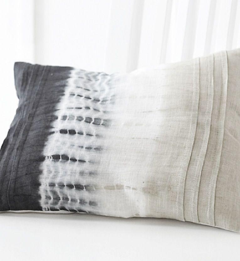 shibori pillow throw paper ninamay product by indigo pillows
