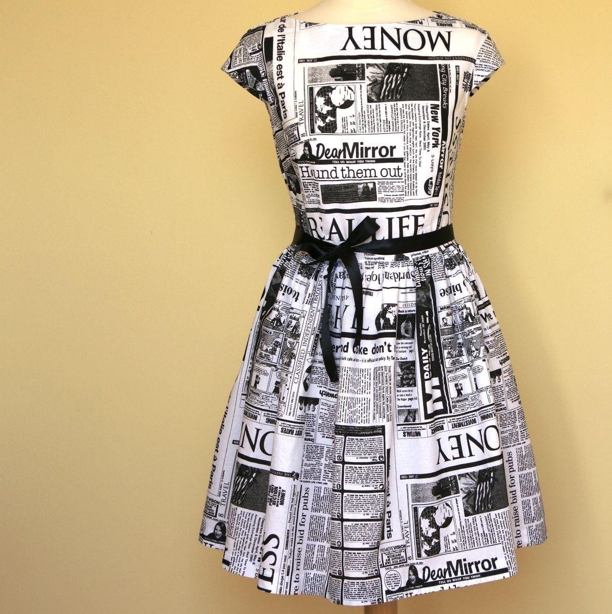 Šaty Audrey...denní tisk...na přání Klasika ve stylu Audrey Hepburn ... a7ccca2a35