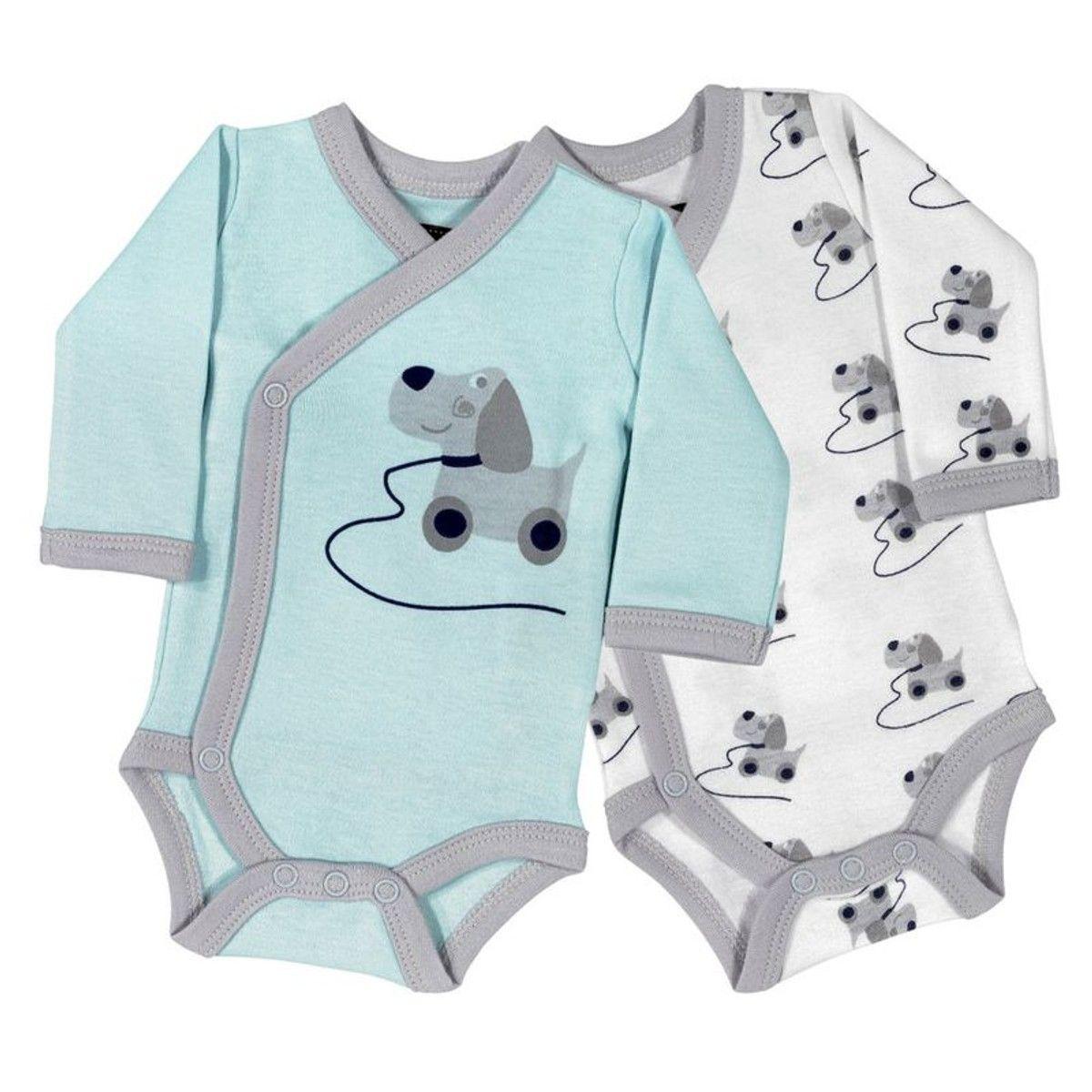 Mignon Bébé Nouveau-Né Bébé Garçon Long Combinaison Ange Body en Coton Vêtements Outfit