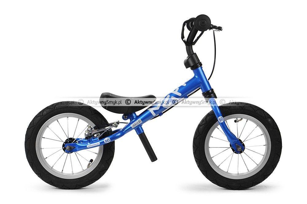 Niebieski Rowerek Biegowy Yedoo Fifty B Posiada Zakres Regulacji