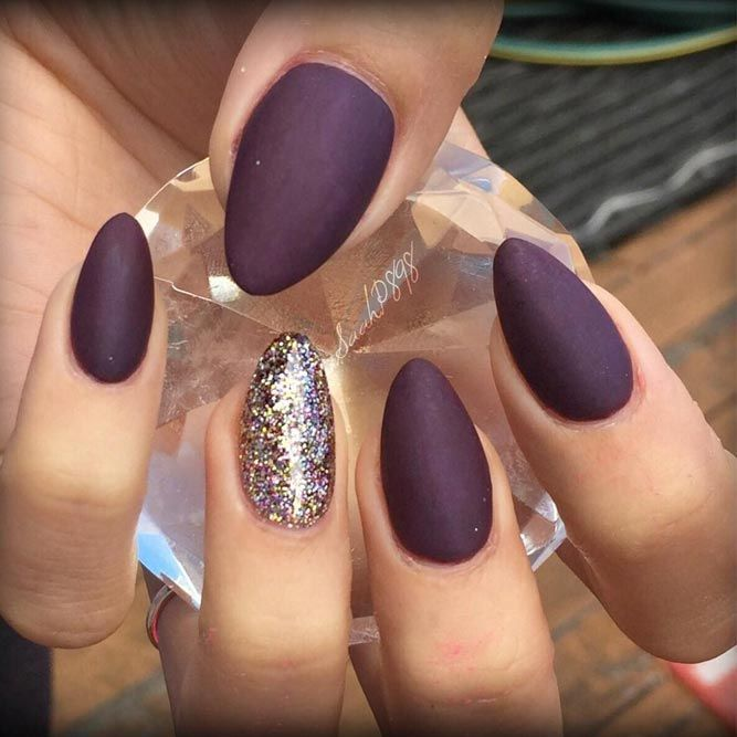 Matte nails are so pretty and elegant! If you are looking for nail designs…  - - Matte Nails Are So Pretty And Elegant! If You Are Looking For Nail