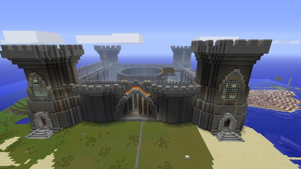 Cool things to build in minecraft xbox playstation for Things to include when building a house