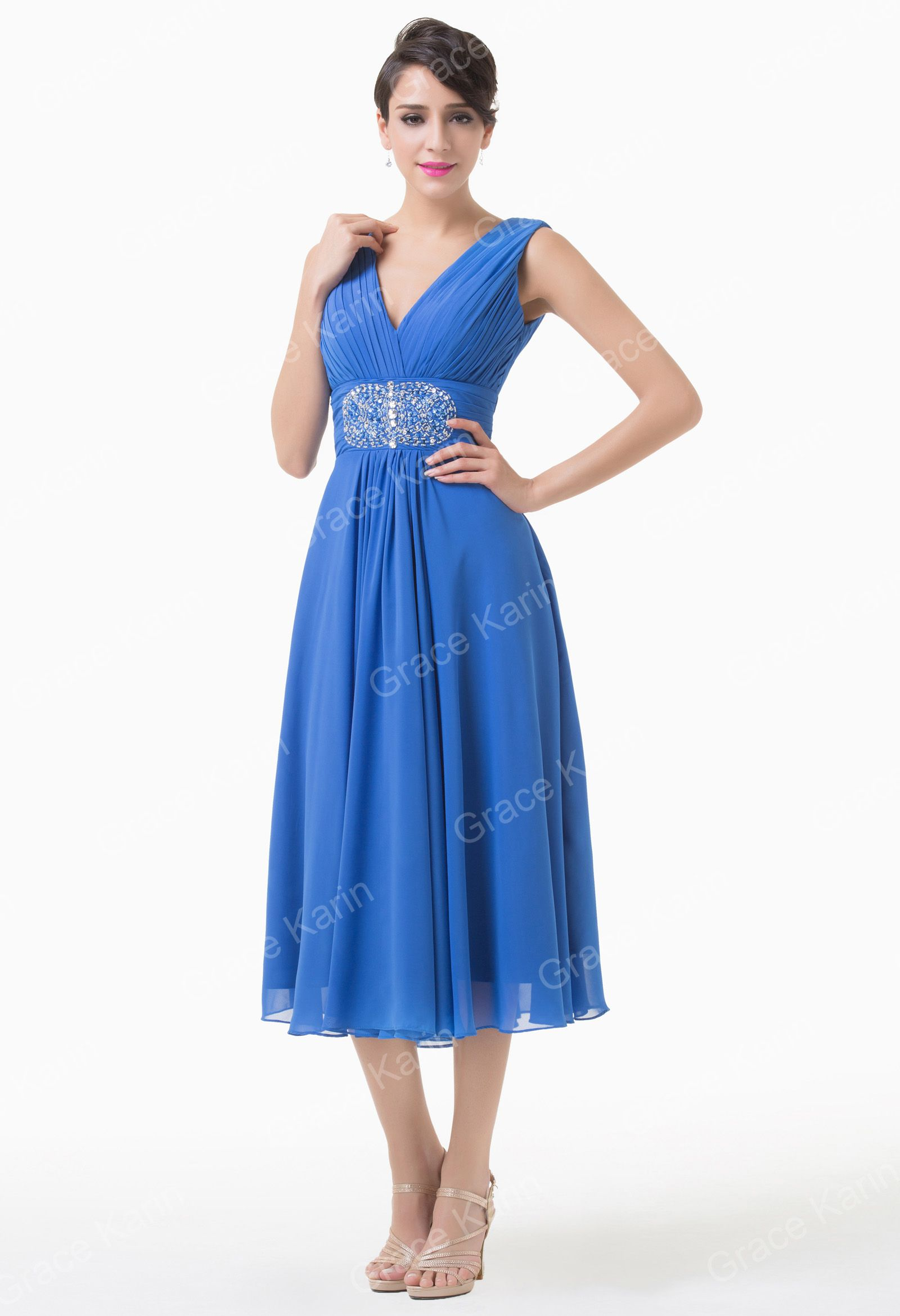 Short party gowns prom evening cocktail dress in stock size