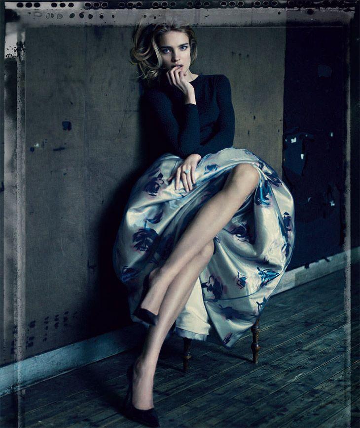 dior:  Natalia Vodianova for Dior by Paolo Roversi