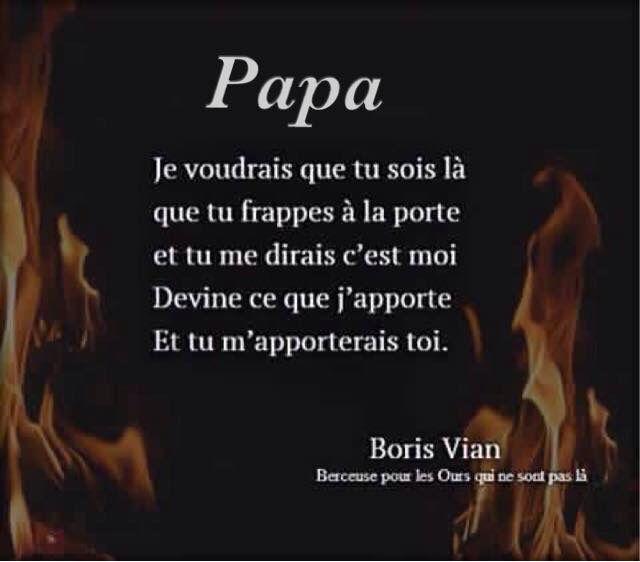 """Boris Vian """"Berceuse pour les ours qui ne sont pas là"""""""