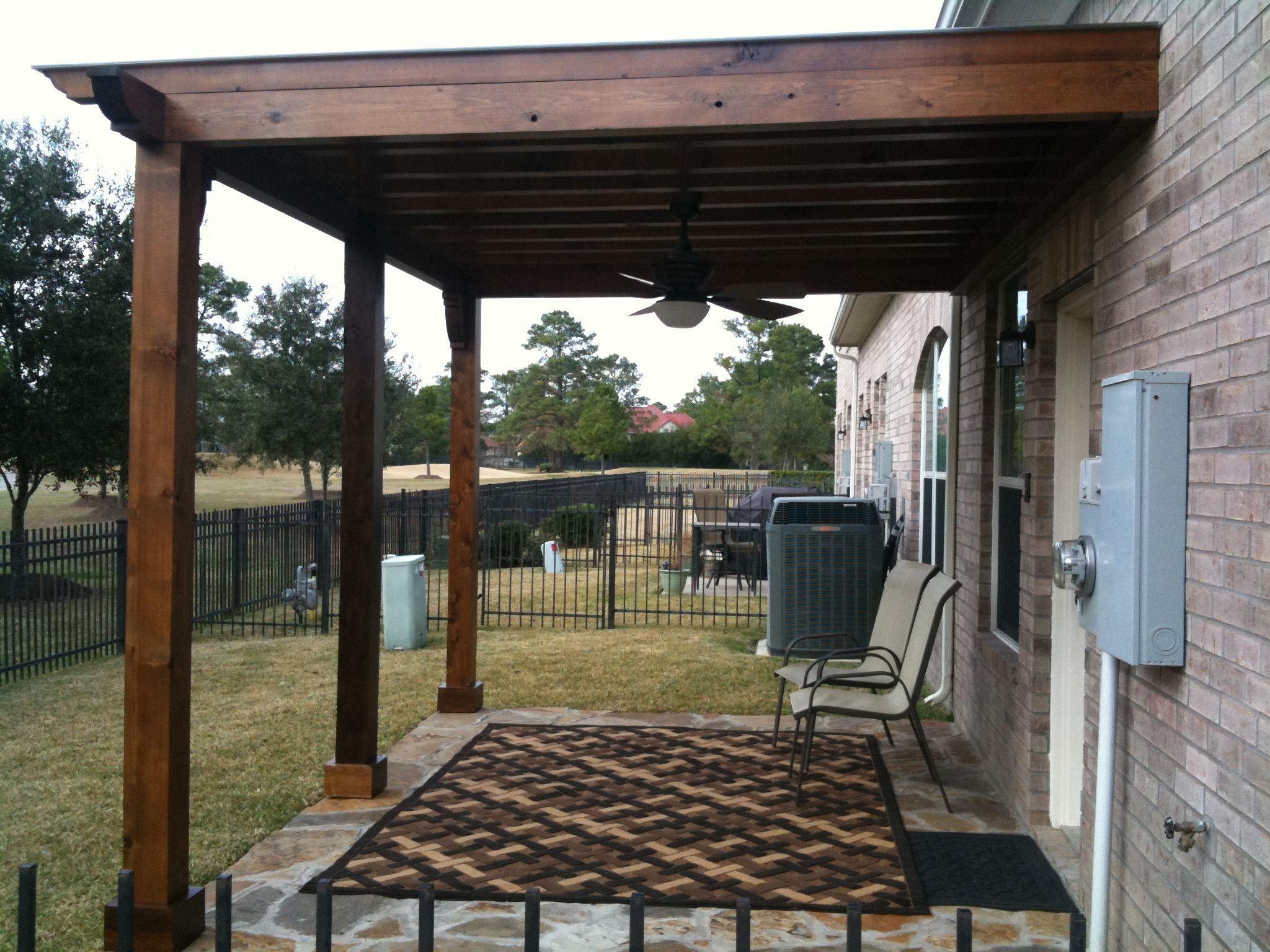 Deck Cover Patio Home Garden Design Outdoor Spaces