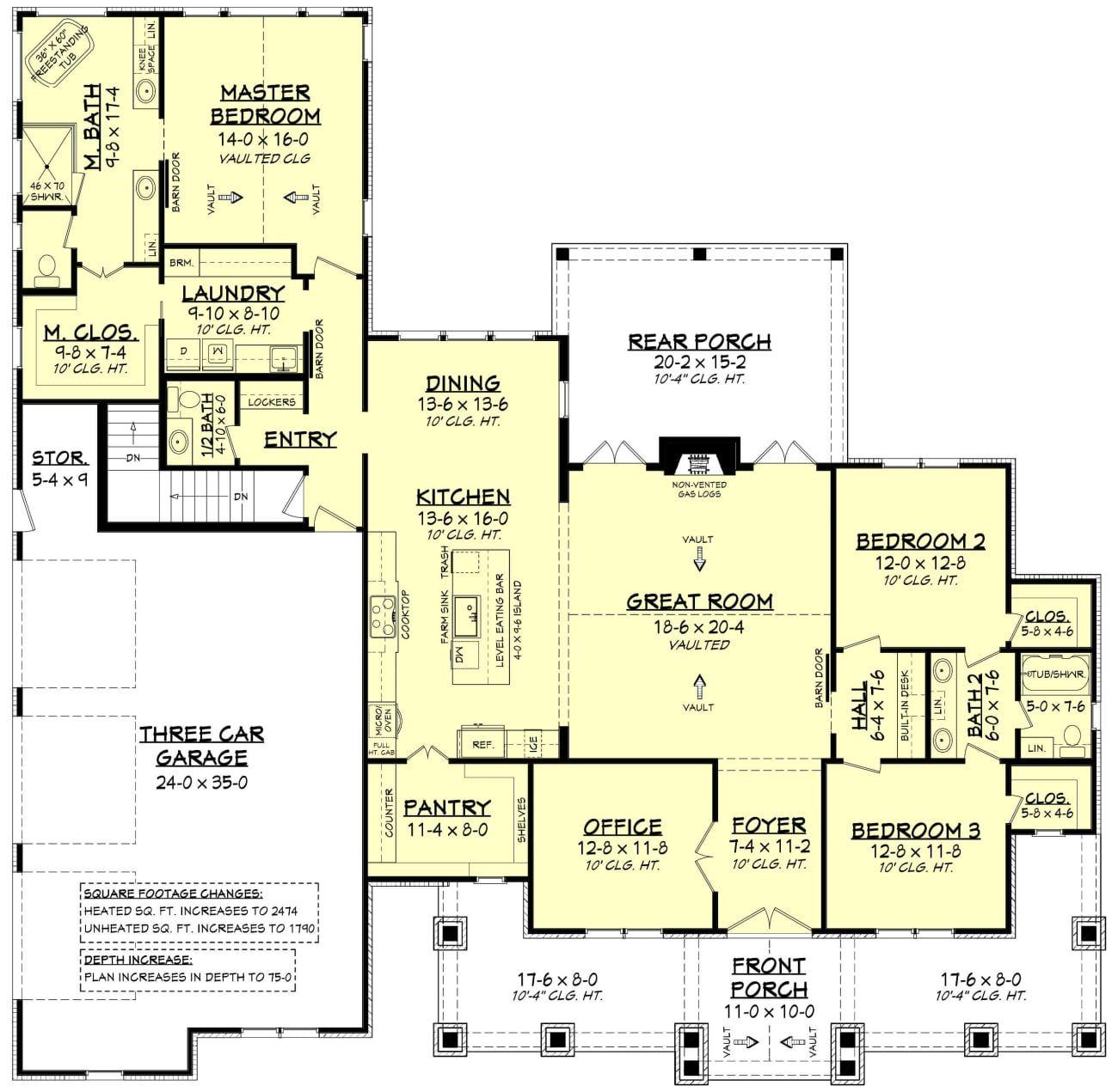 Stratton House Plan House Plans Country House Plan House Plans Farmhouse