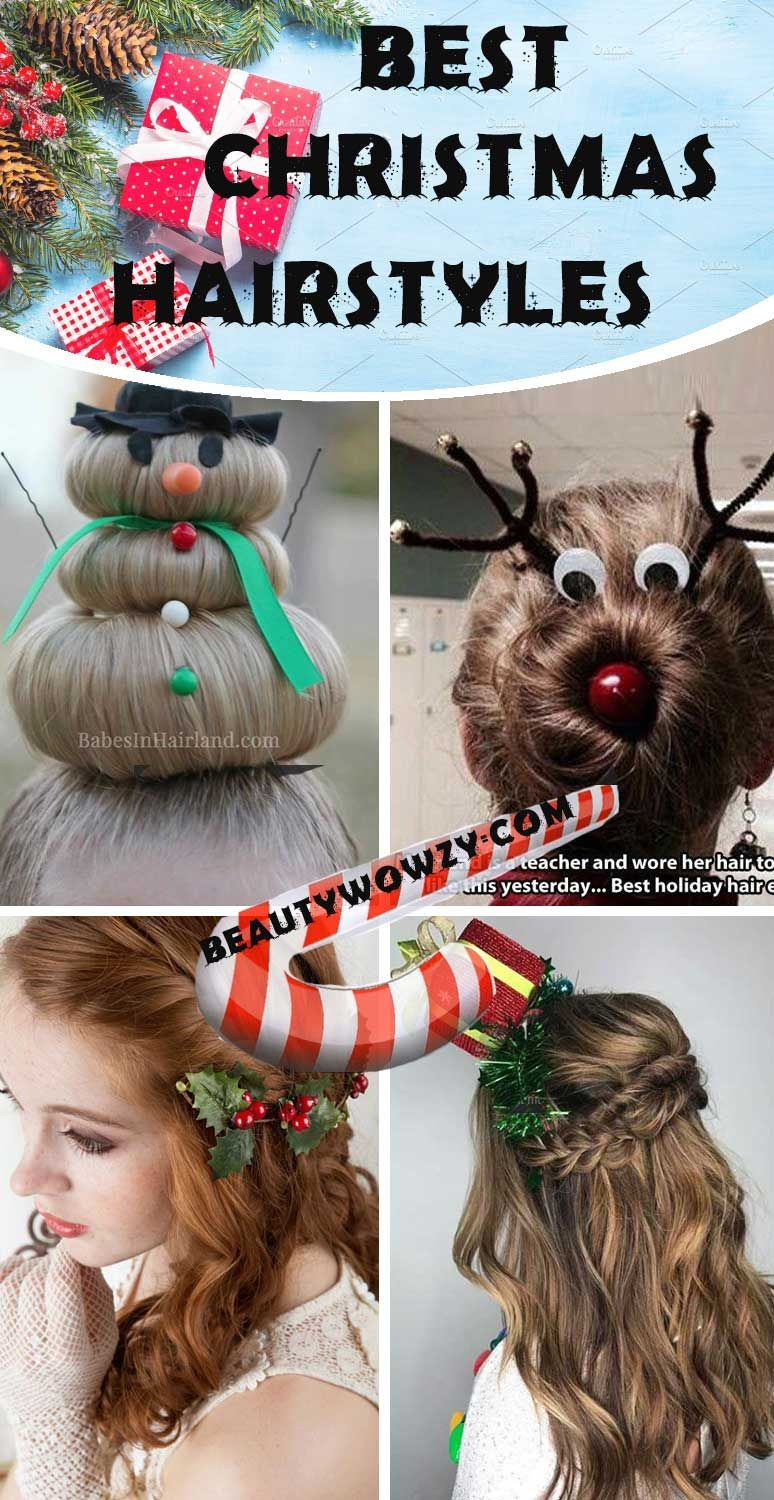 DIY Christmas Party Hairstyles for Women Beauty Wowzy hairstyles
