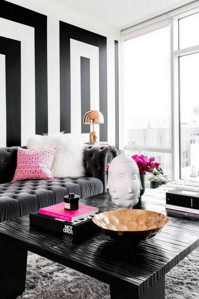 34+ Stuning Sweet Black And White Decor Color Ideas images