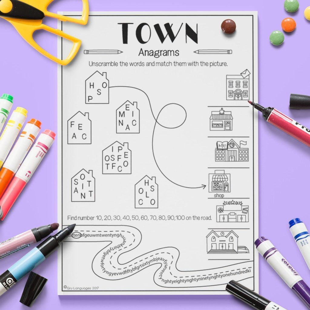 Town Anagrams