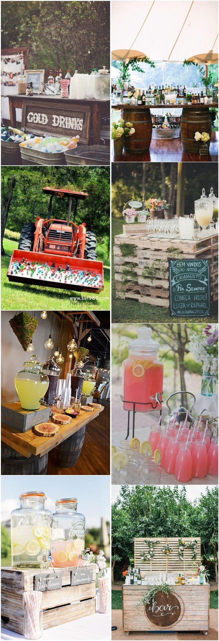 5 Admirable Wedding Food and Drink Bar Ideas recommend