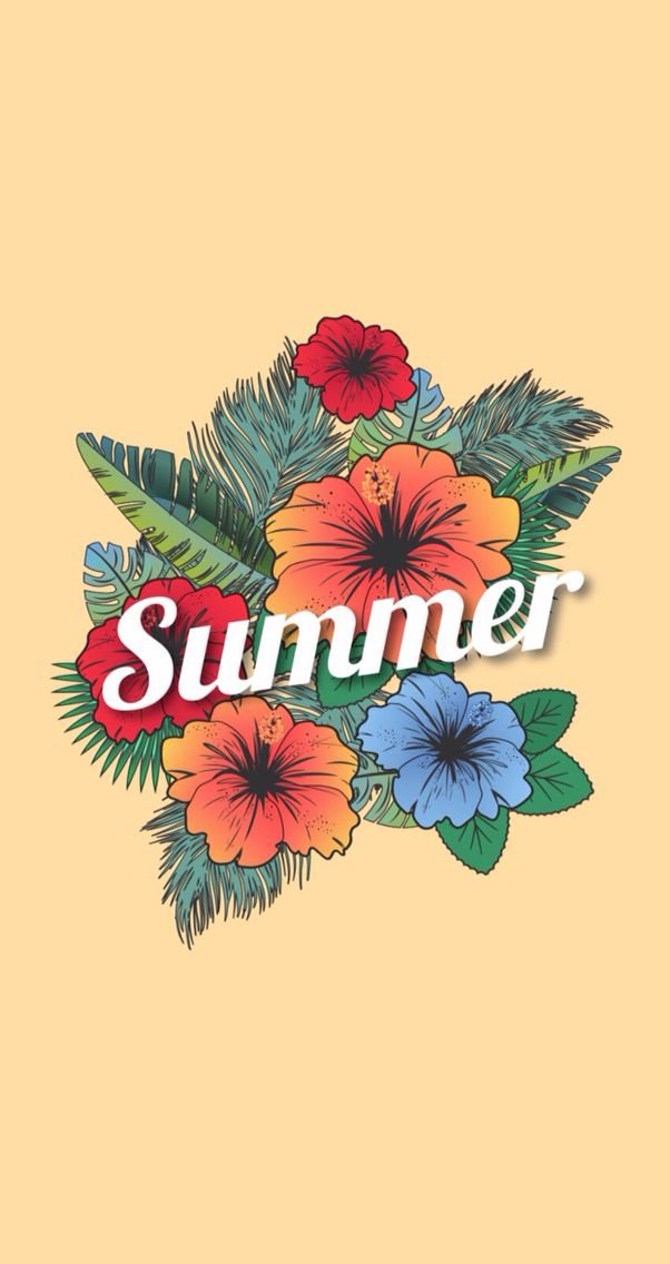 Cute summer wallpaper Fondos de pantalla facebook