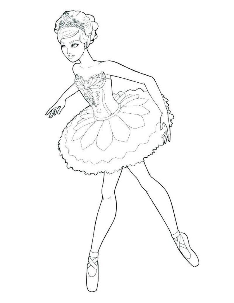 Ballerina Coloring Pages Printable di 2020