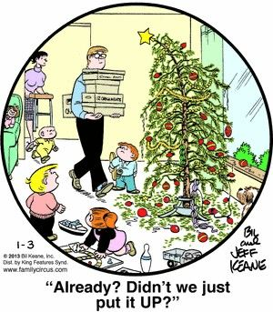 Christmas Time Fun Lol Family Circus Cartoon Family Circus Family Circus Comics