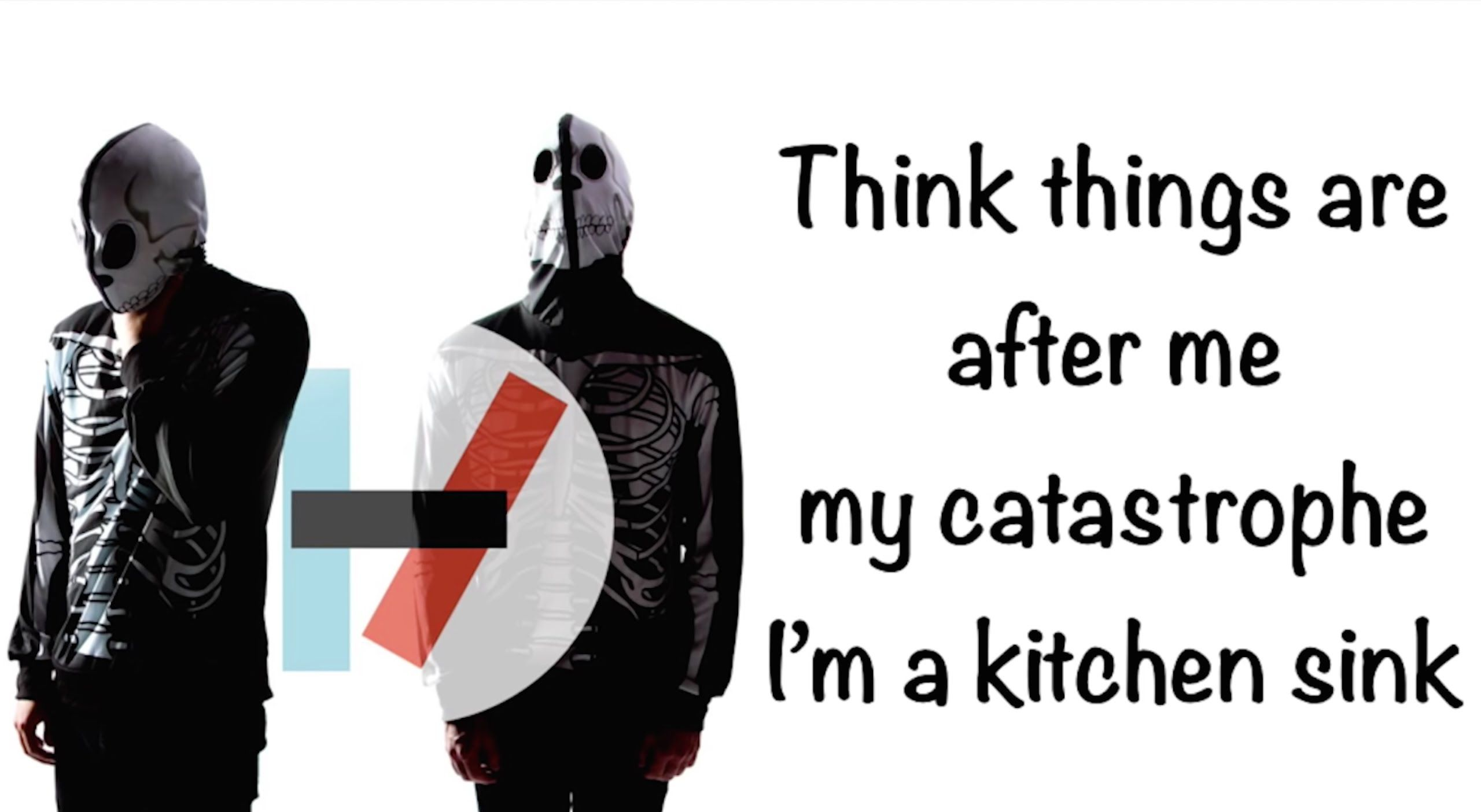 Twenty one pilots Kitchen Sink lyrics 21 pilots