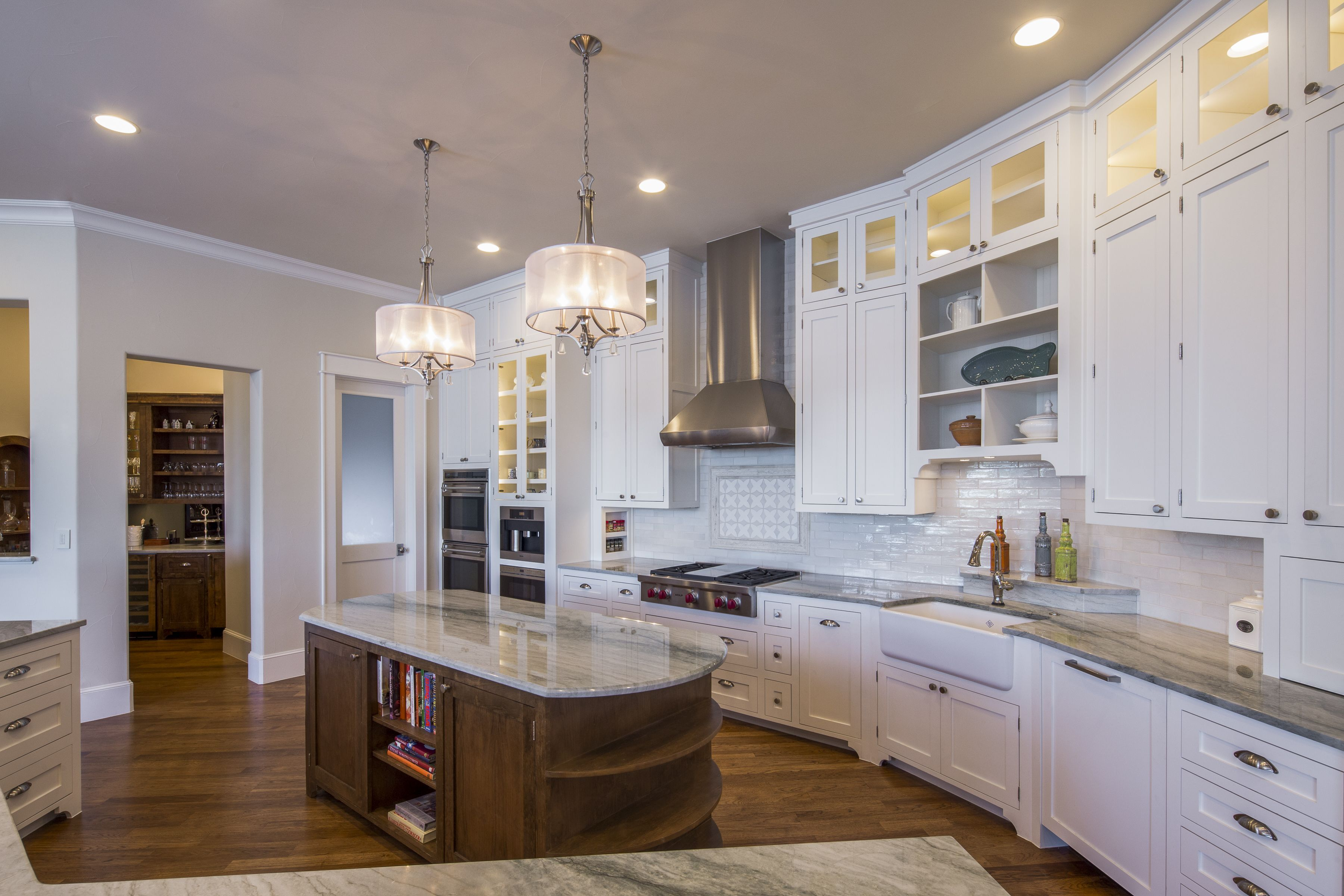 Kitchen In Custom Texas Hill Country Lake House By Sterling Homes Austin Tx Lakeway