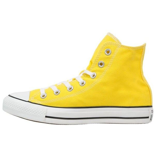Converse CHUCK TAYLOR ALL STAR Hightop trainers citrus (81 CAD) ❤ liked on  Polyvore 55a5c5eb6b7d