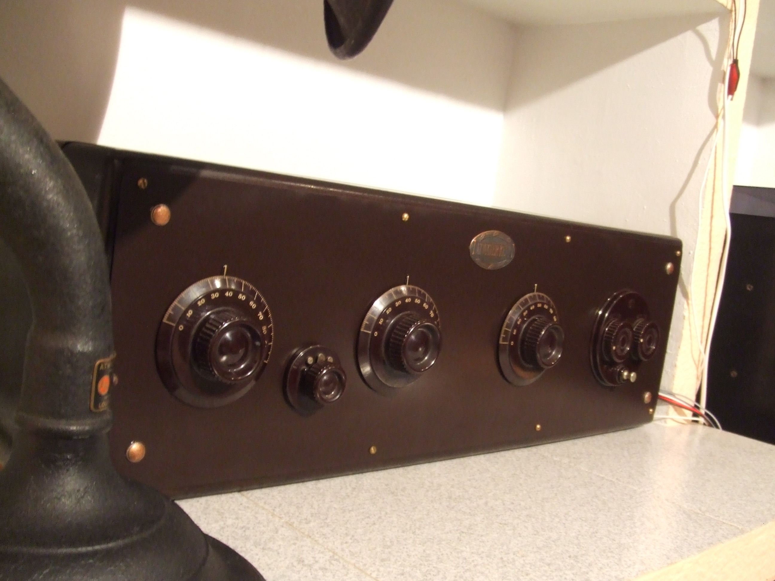 Atwater Kent 20 Big Box u0026 Atwater Kent Speaker model  M  (1925) & Atwater Kent 20 Big Box u0026 Atwater Kent Speaker model