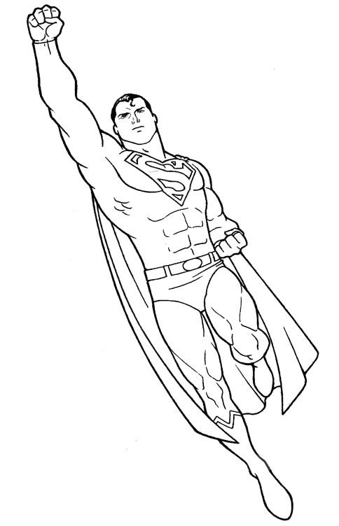 Superman Coloring Pages Printable Mrs Bri the SLP Pinterest - new print out coloring pages superheroes