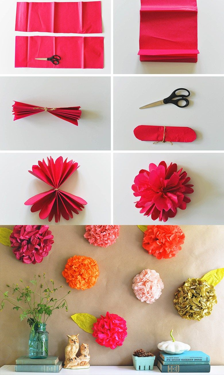 12 incre bles ideas diy con papel de china neon party - Papel para decorar paredes ...