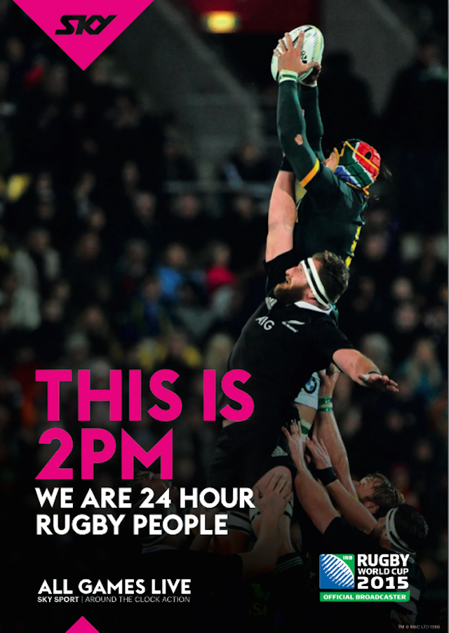 24 hour tired people Sky TV promotes its round the clock